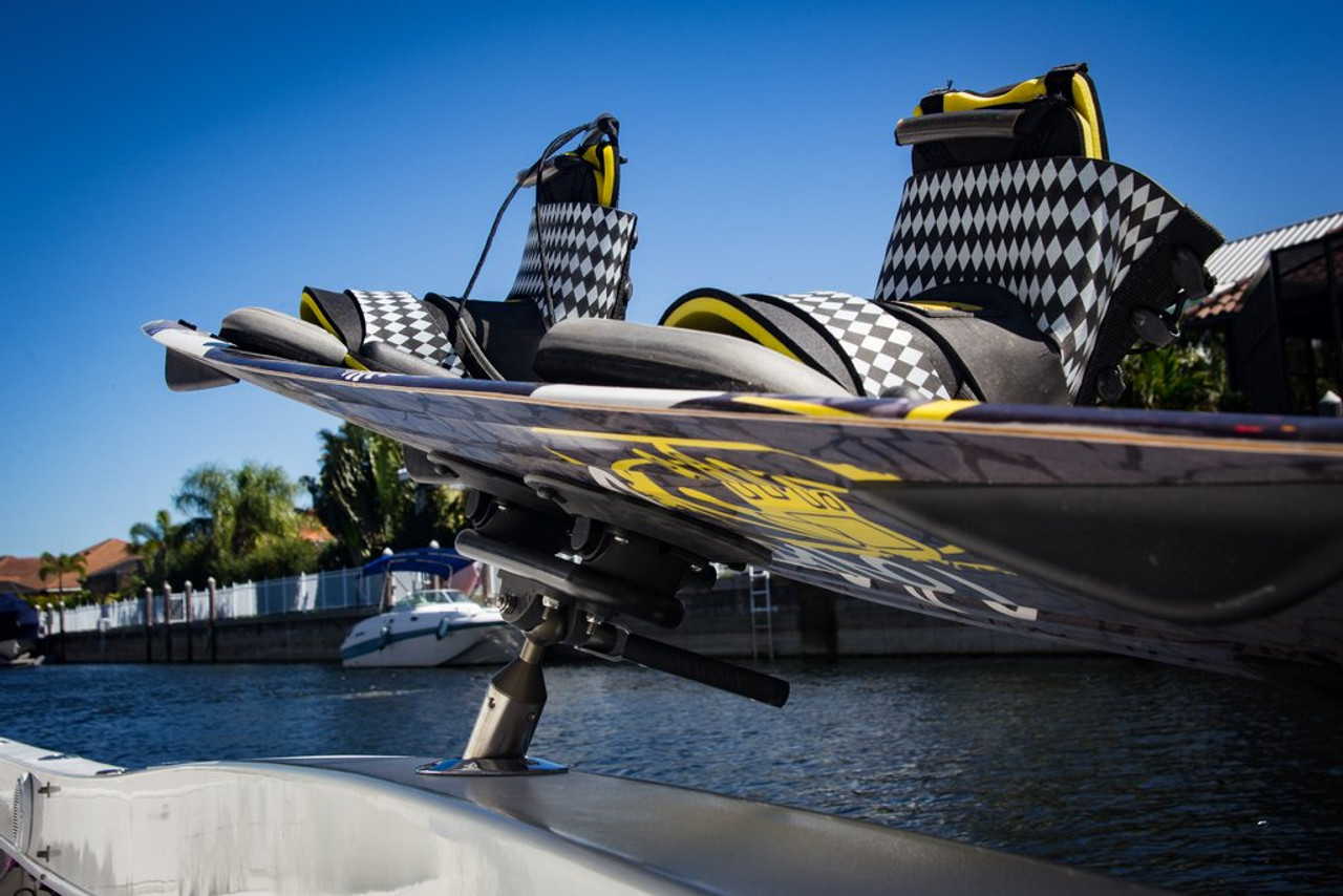 suction mount wakeboard rack