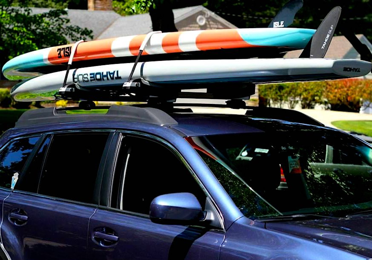 best yoga racing touring paddleboard roof rack for car thule locking