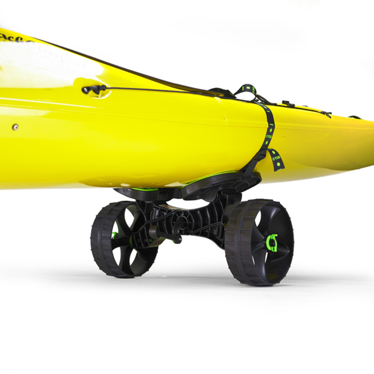 no puncture tires on kayak cart