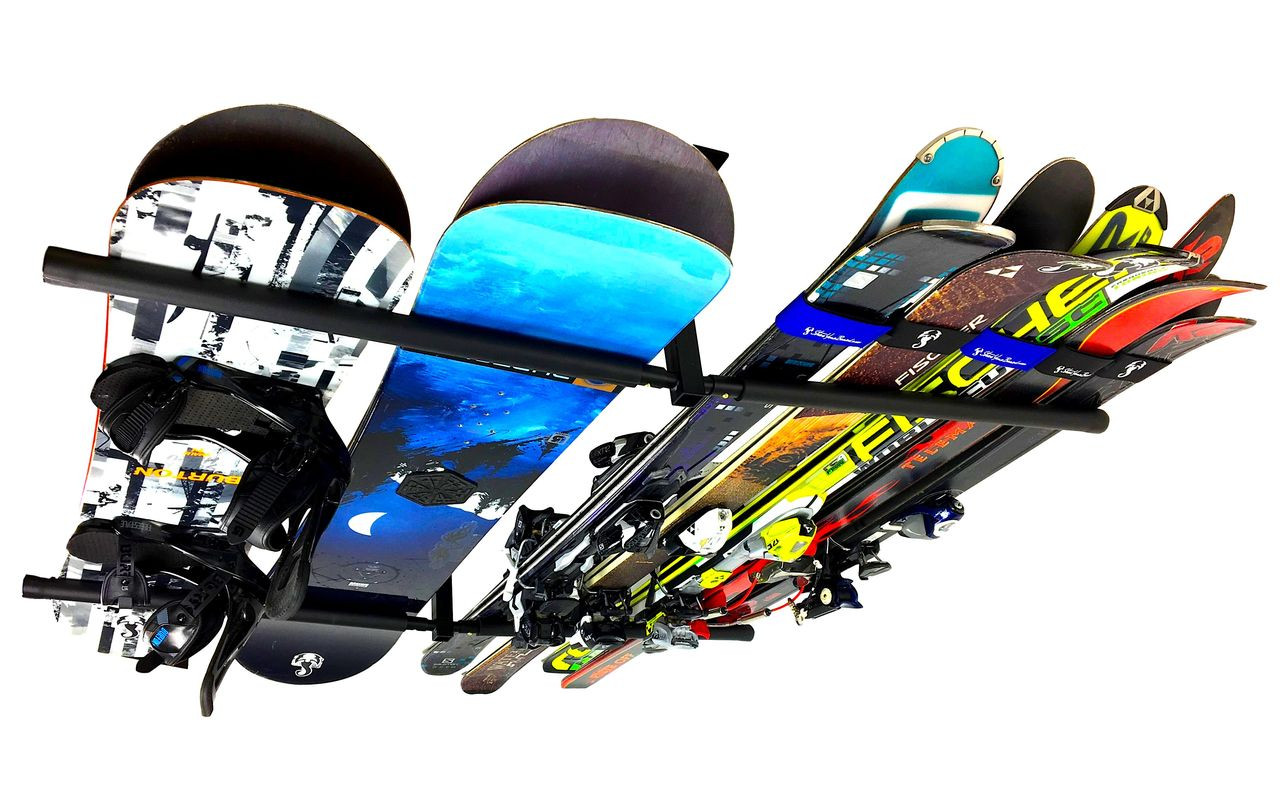 Hi-Port 2 | Ski & Snowboard Ceiling Storage