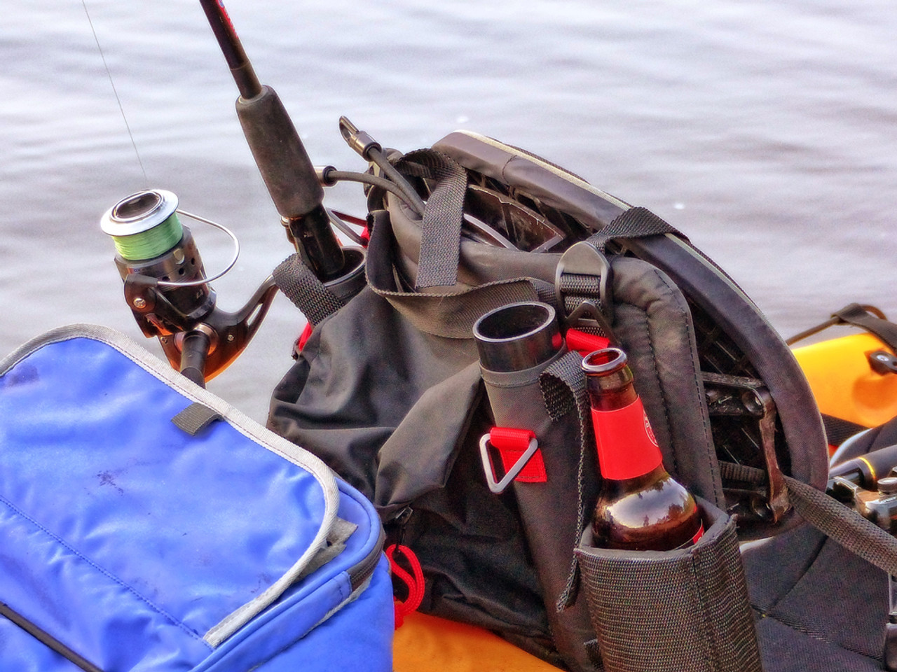 kayak seat storage