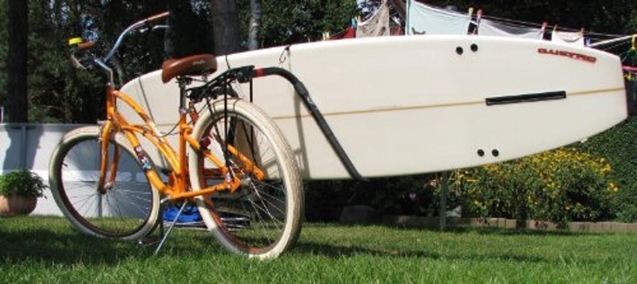 best longboard surfboard bike rack