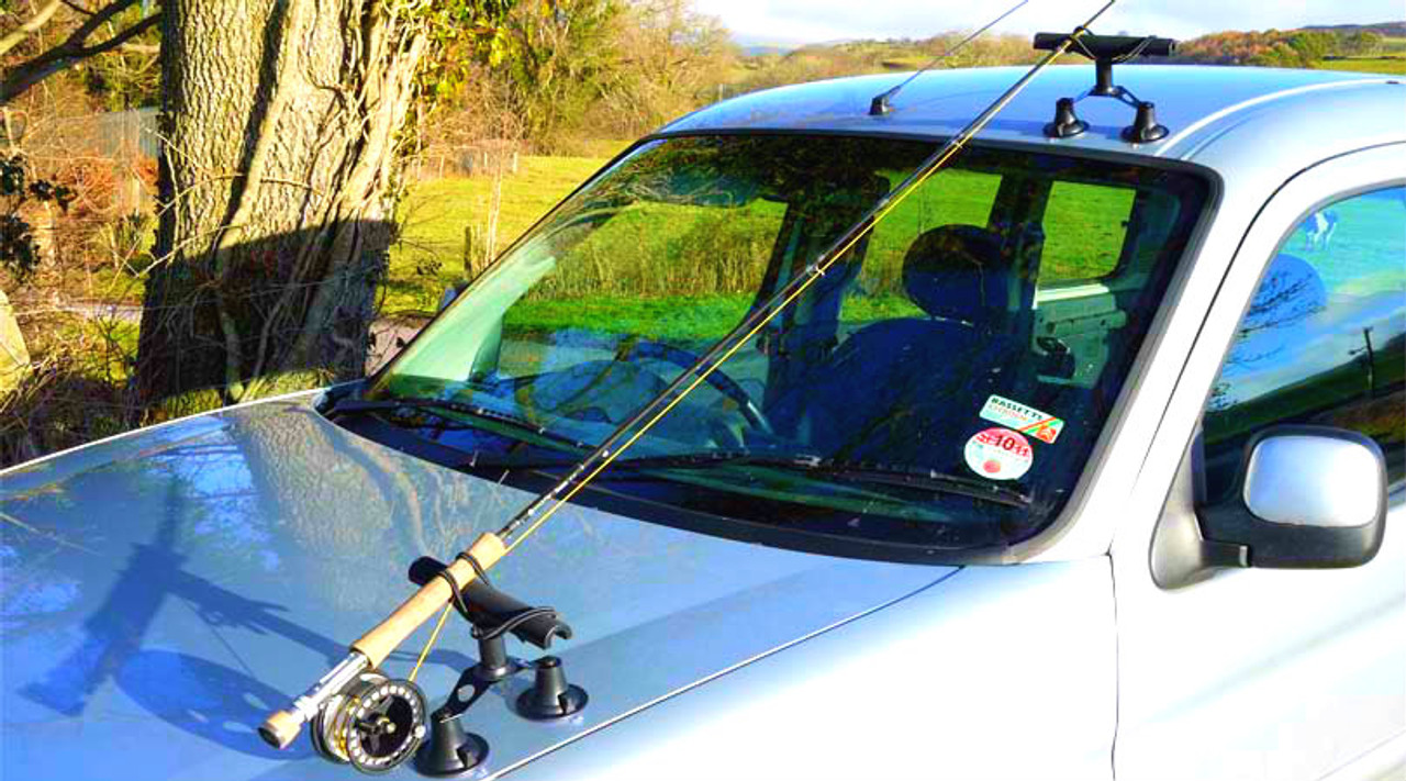 Suction Fishing Rack | Hood Mount | Sportube