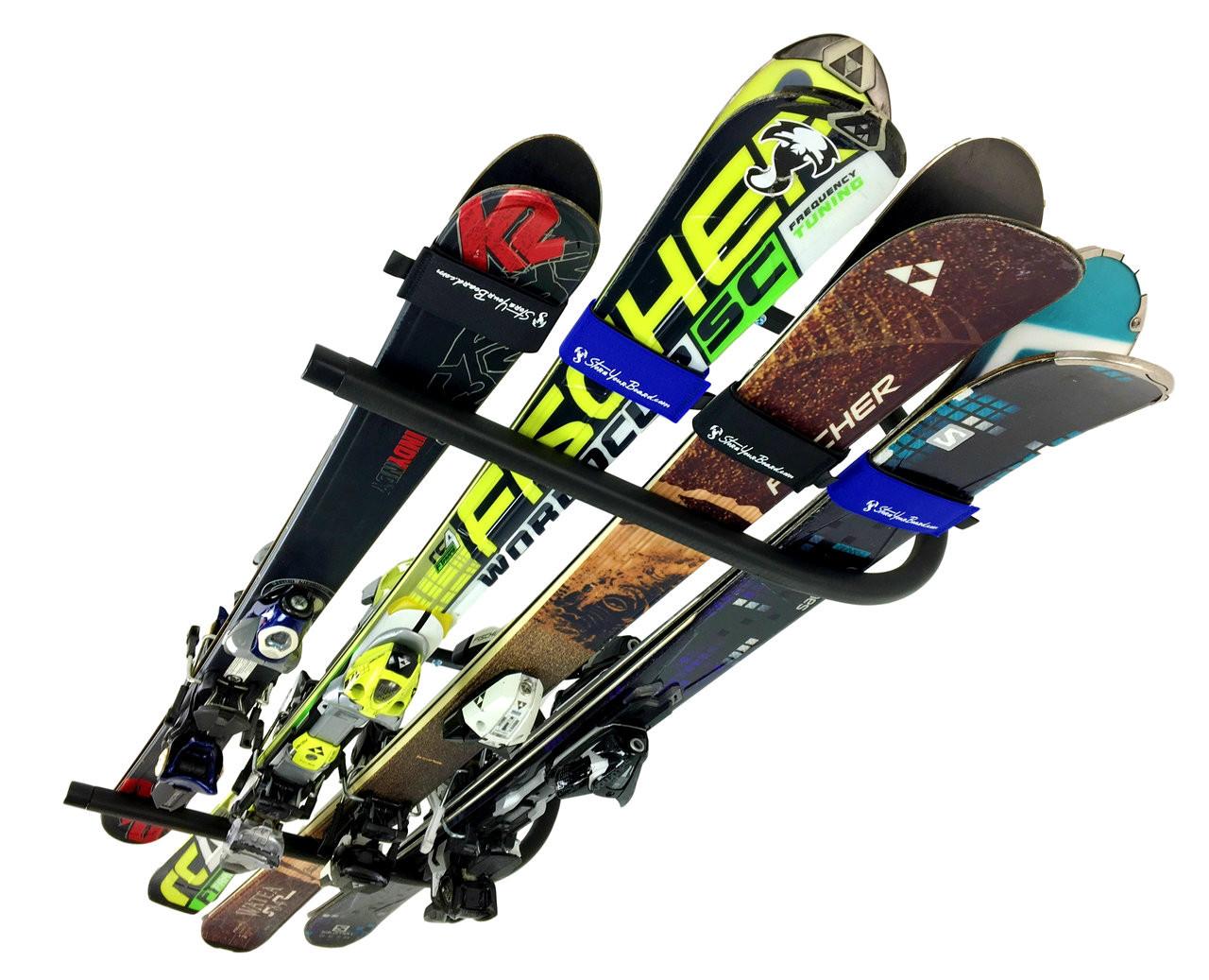 best ski ceiling rack storage garage home