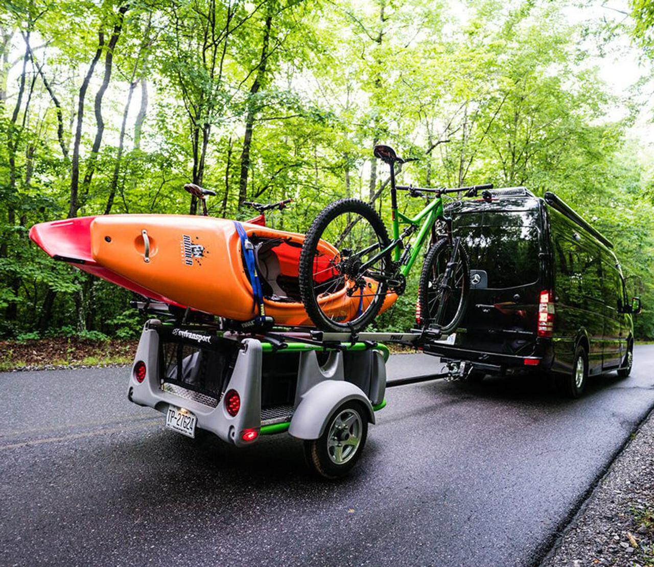 customizable kayak bike canoe paddleboard trailer