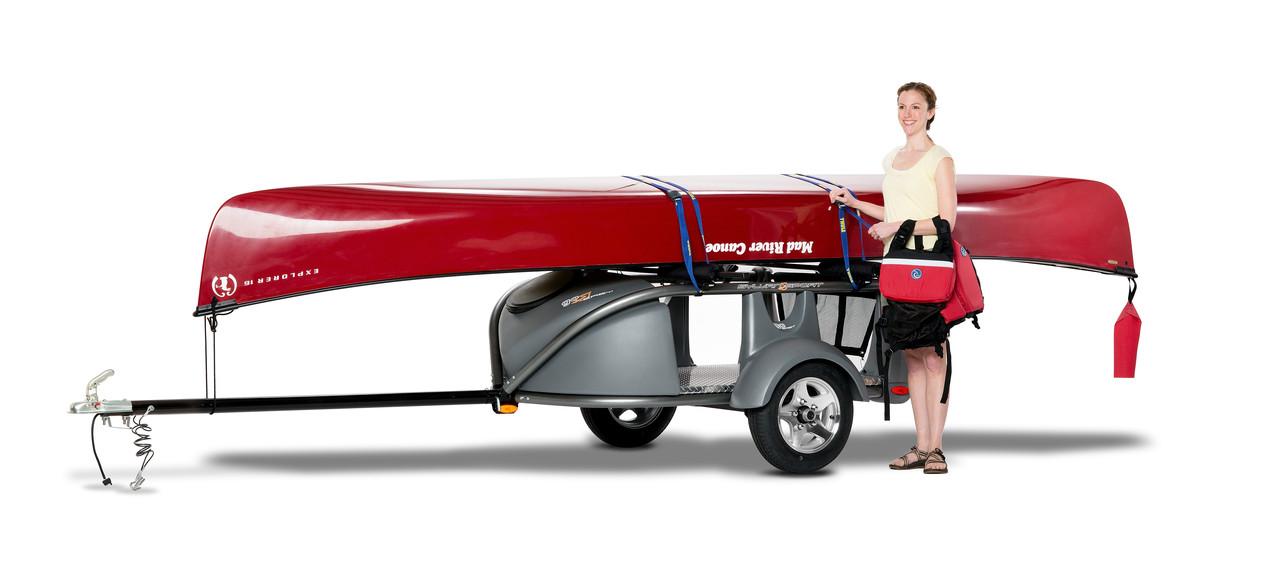 car truck SUV canoe trailer