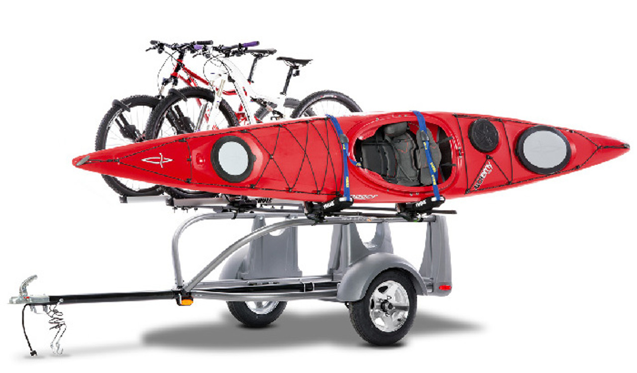 kayak bike canoe paddleboard trailer