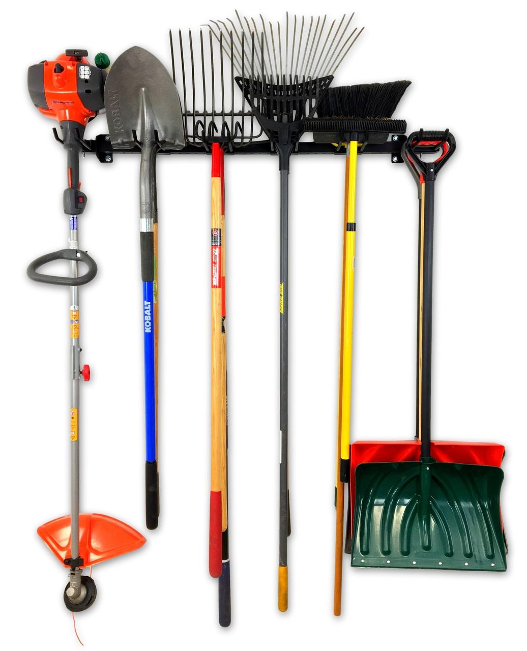 yard tool rack for garage