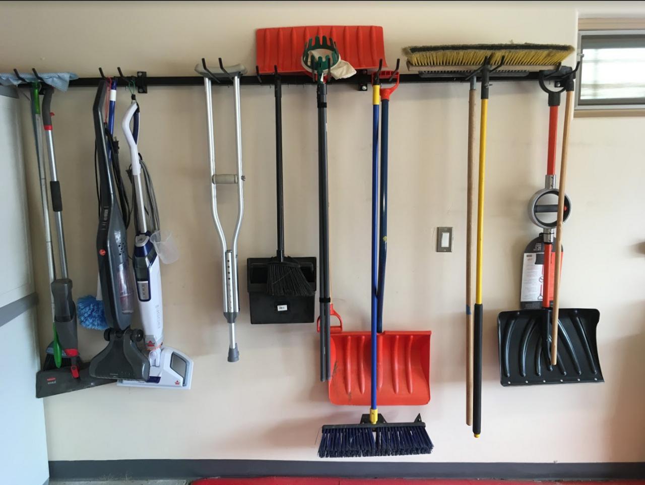 Omni Tool Storage Rack Max Wall Mounted Tools Home