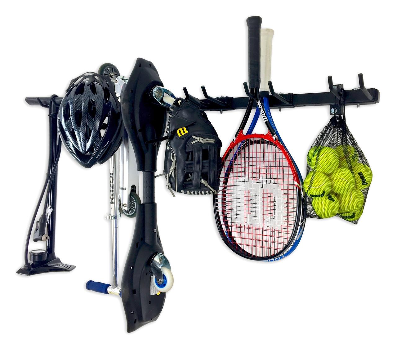 best garage wall storage for sports equipment