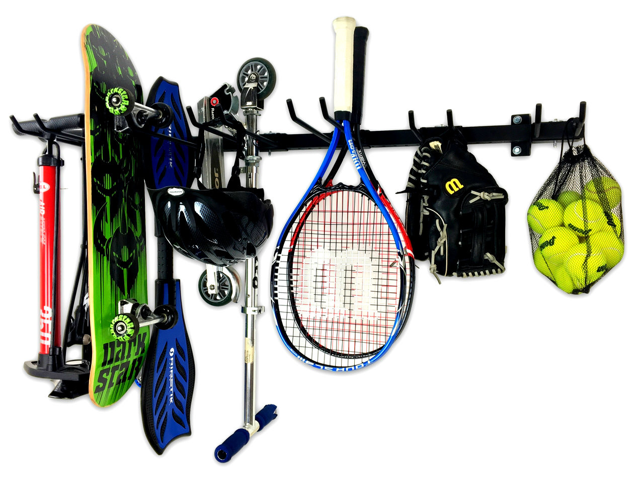 garage storage for sports gear