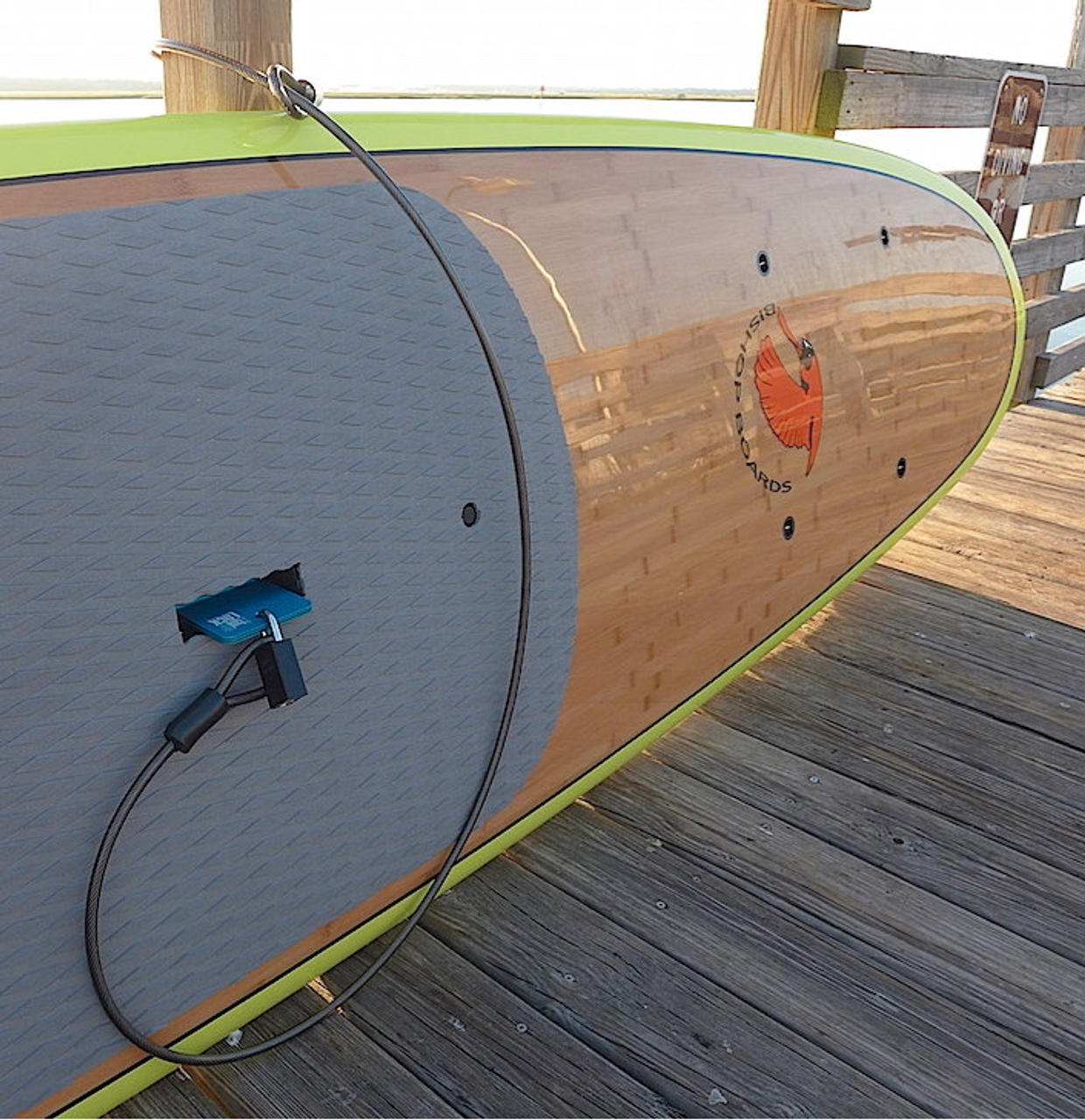 best paddleboard locking system