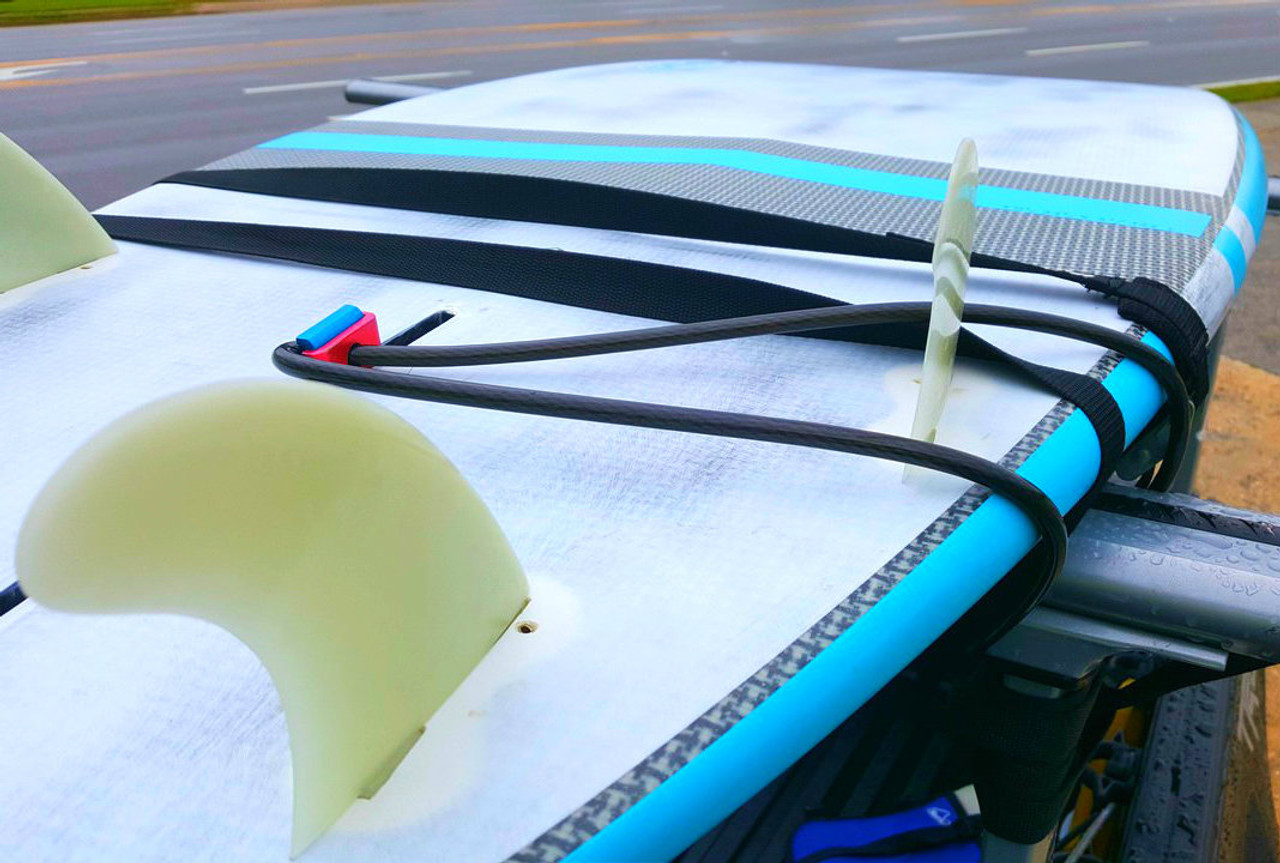best surfboard fin box locking cable