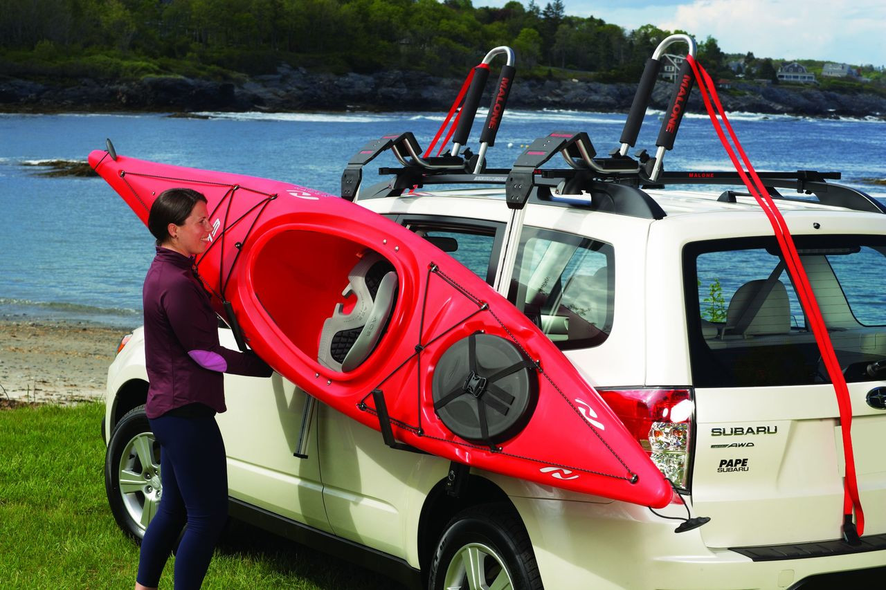Kayak Roof Rack Load Assist | Telos XL