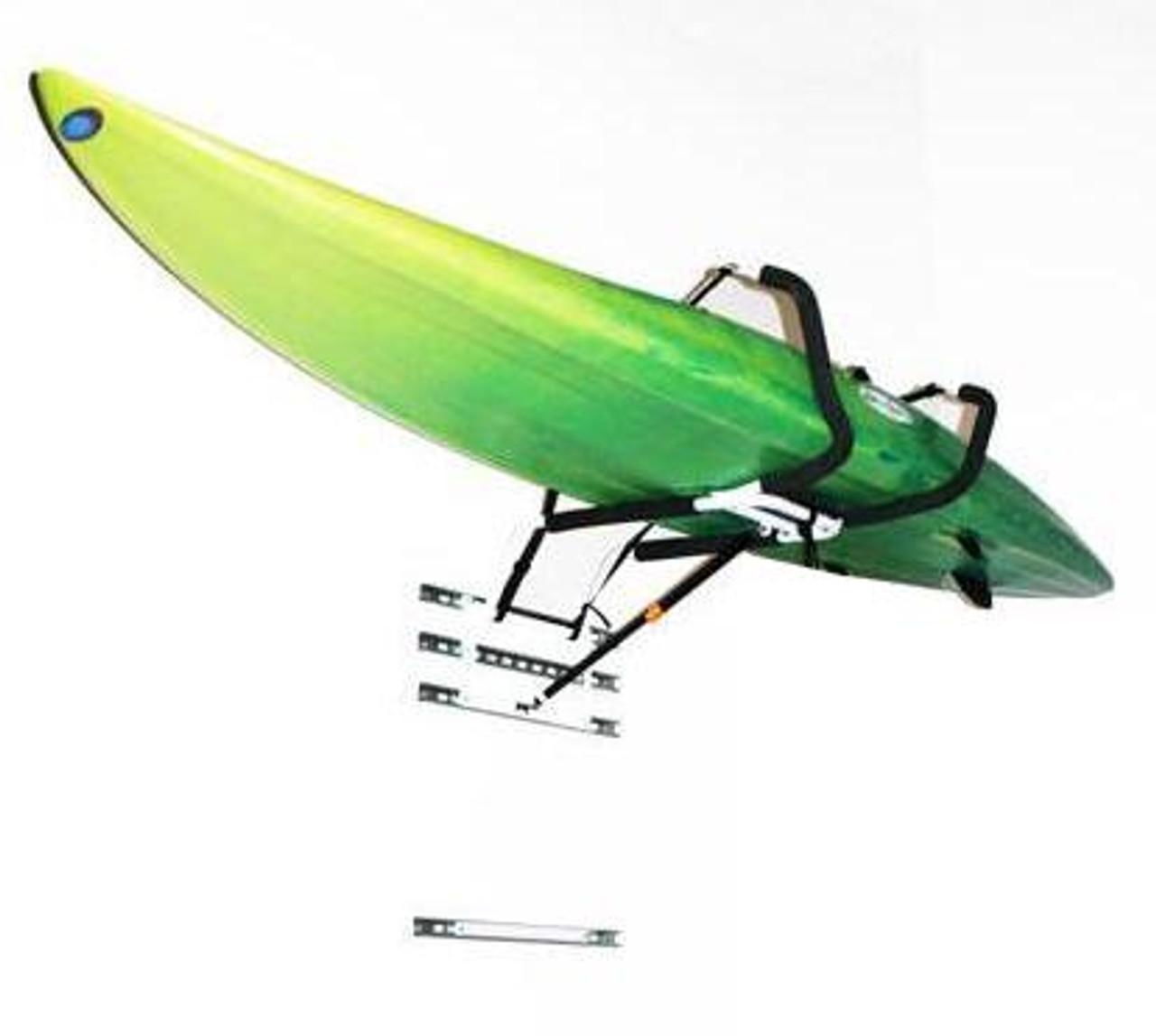 hydraulic kayak wall lift rack