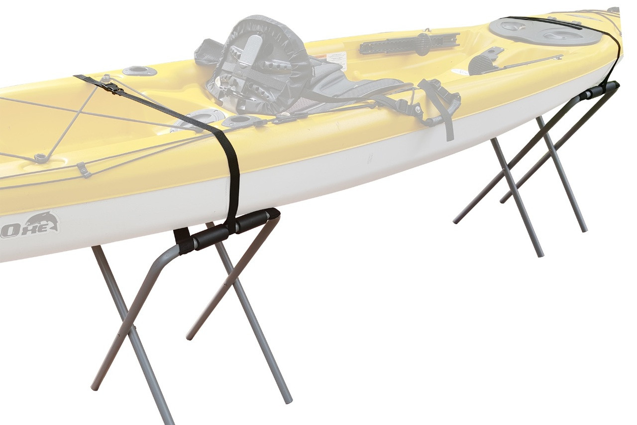 folding floor stand for kayaks metal heavy duty