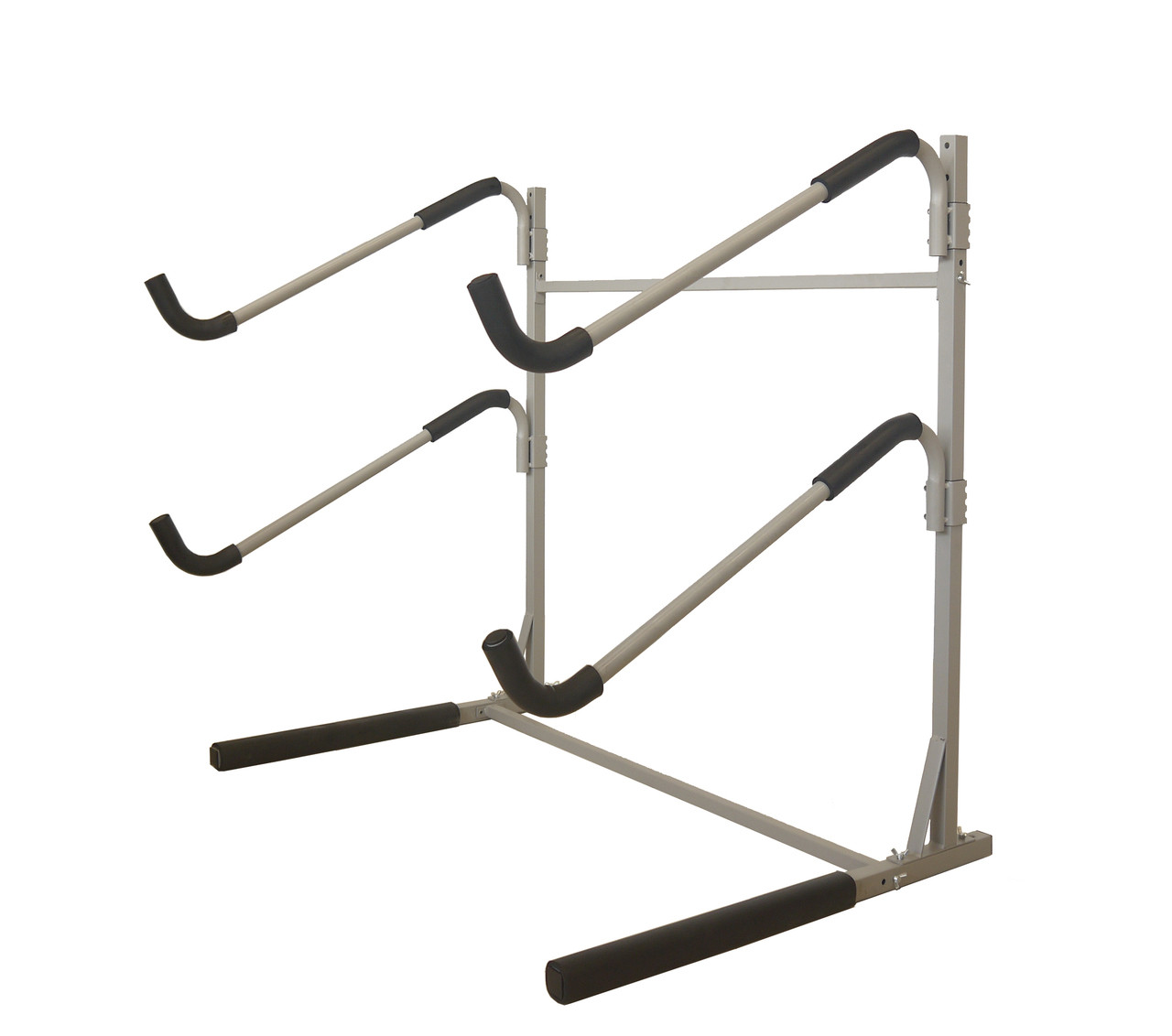 freestanding floor rack for 2 paddleboards metal padded