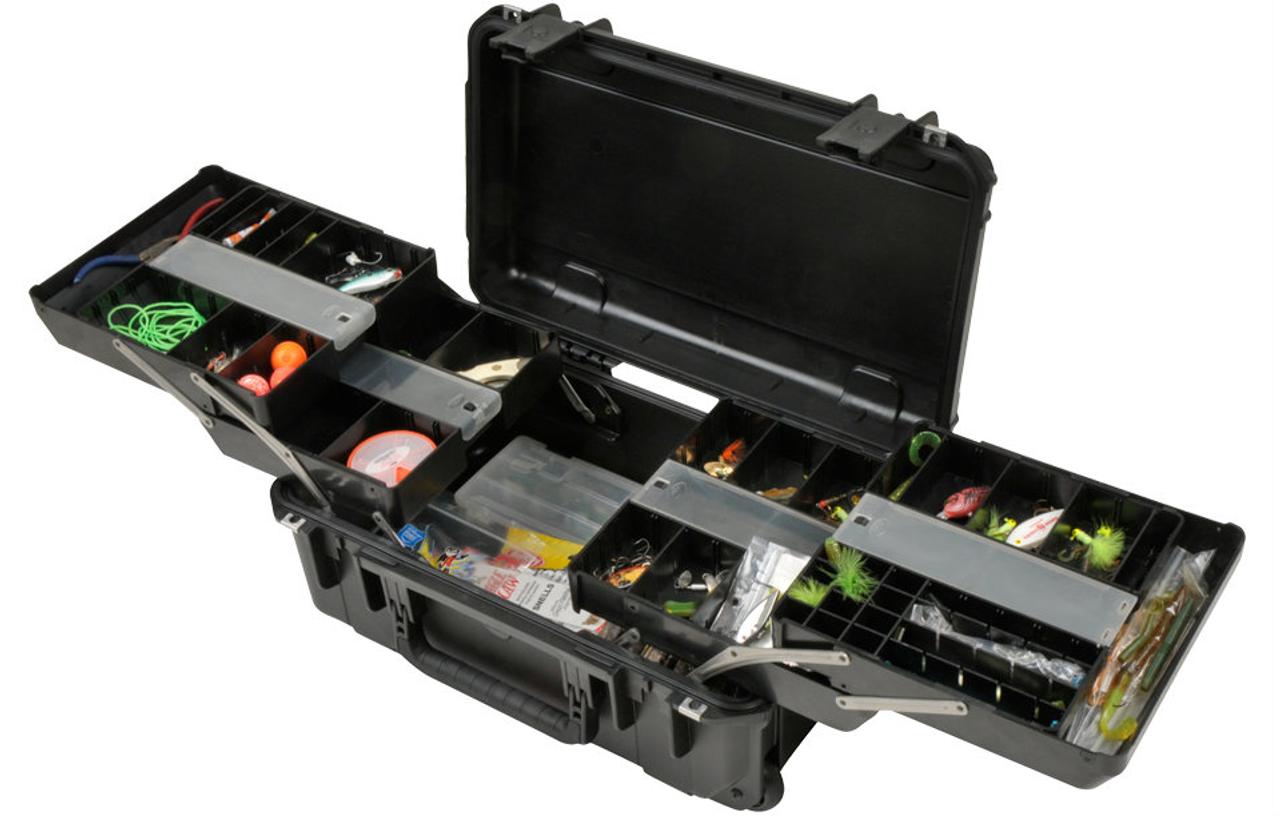 Waterproof Fishing Tackle Box | Hardshell Case
