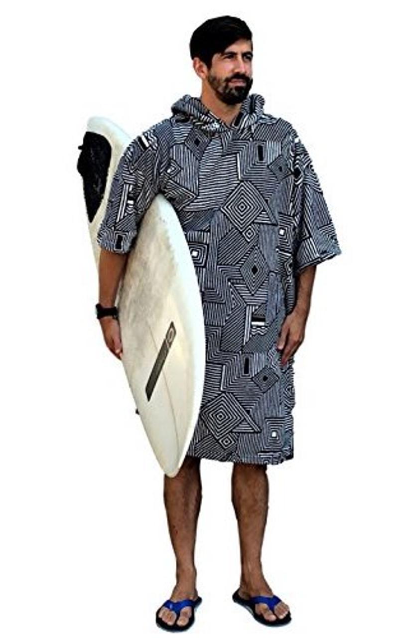 Beach Changing Robe | Wetsuit Changing Robe | Microfiber Towel