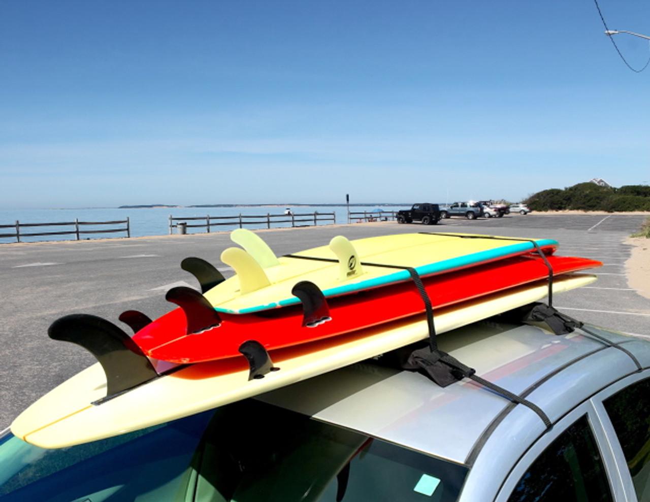 Surfboard Universal Car Rack | Single Board Soft Rack | Demo