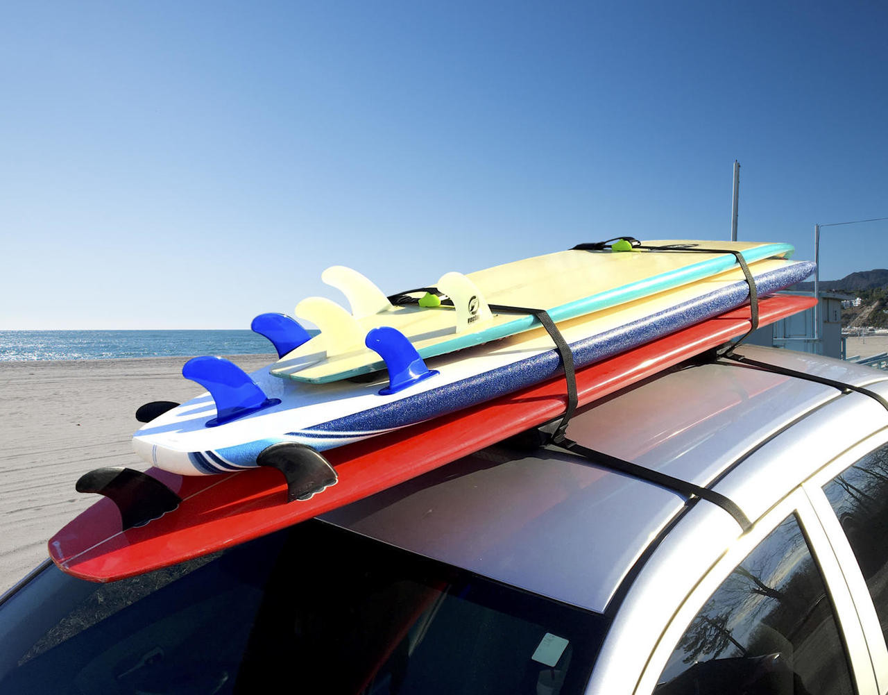 Premium Surfboard Car Rack | Universal Surfboard Roof Rack