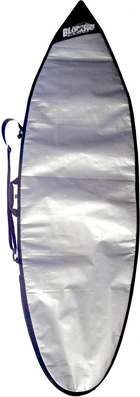 shortboard day bag UV reflective fin expander