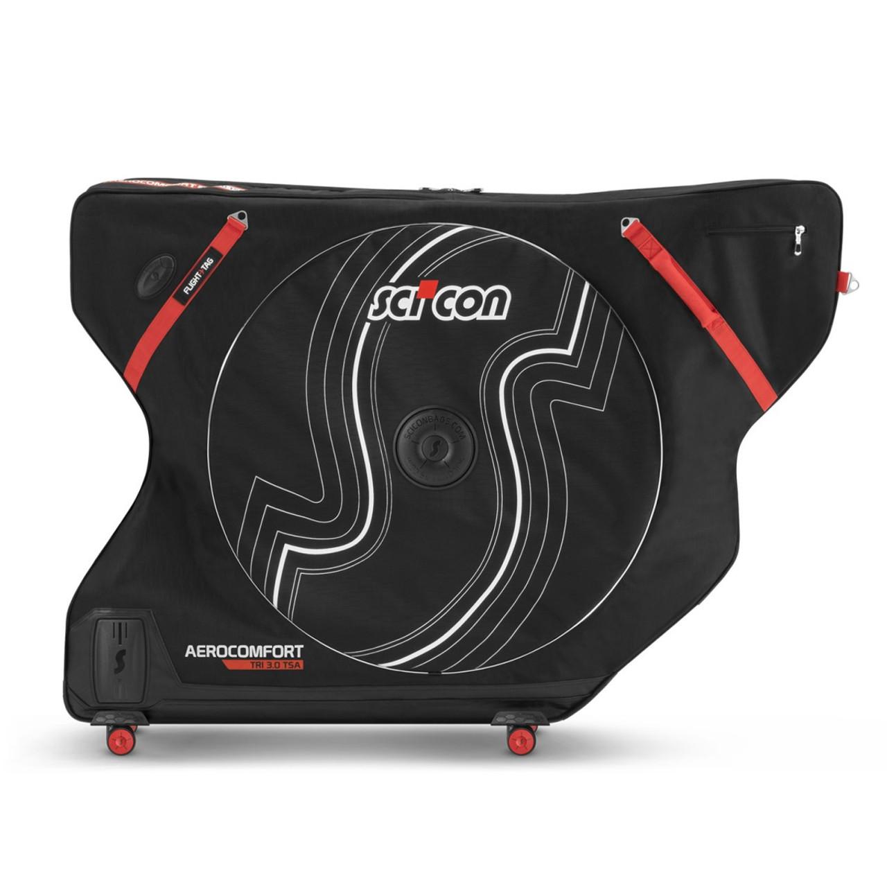 9eeb68a96df3 Aerocomfort 3.0 Triathlon Bike Travel Bag | SciCon | TSA Rolling Case
