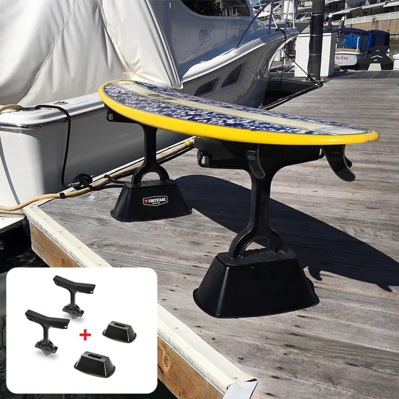 outdoor indoor freestanding SUP and kayak stand