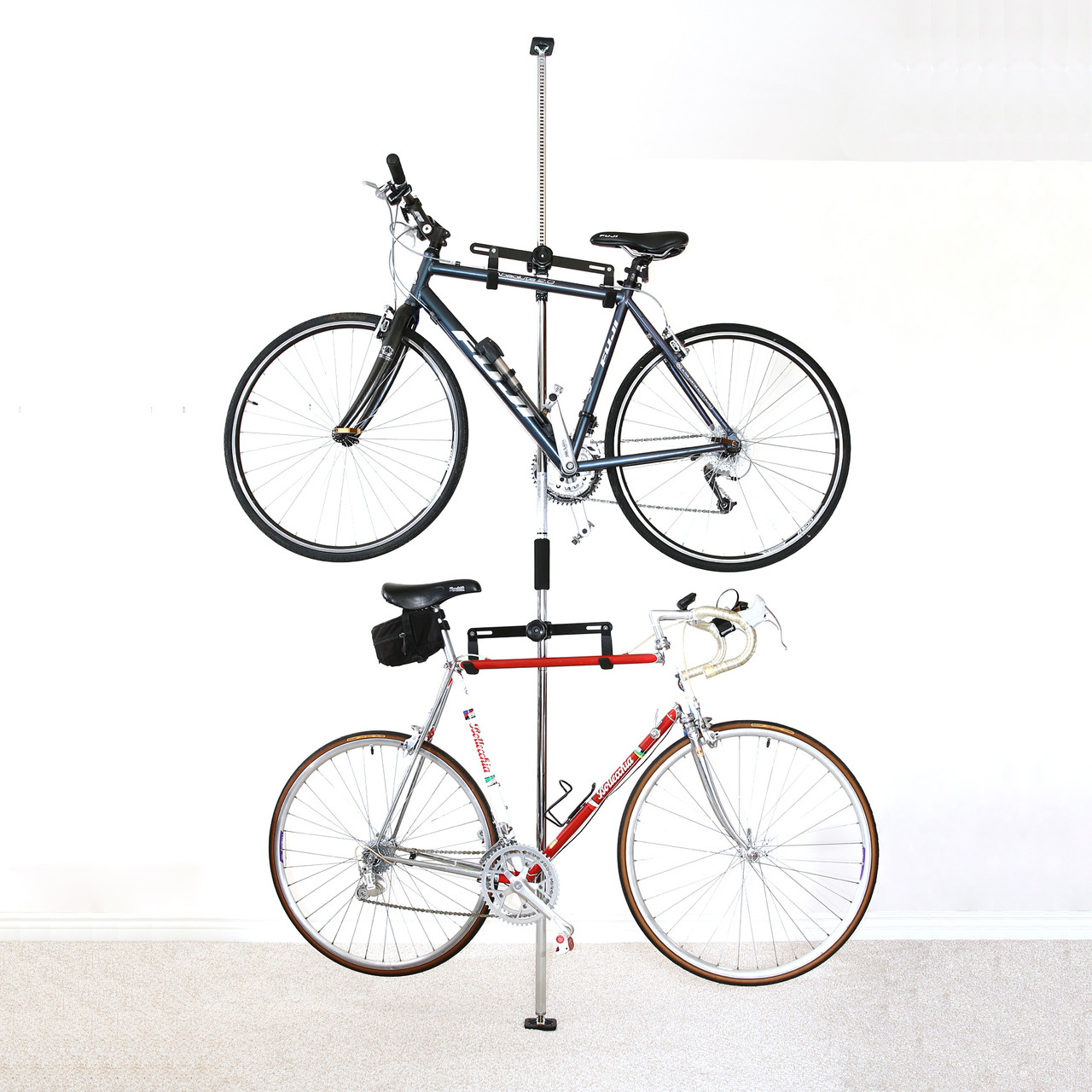 Bike Storage Rack For Apartment | Pressure Mount
