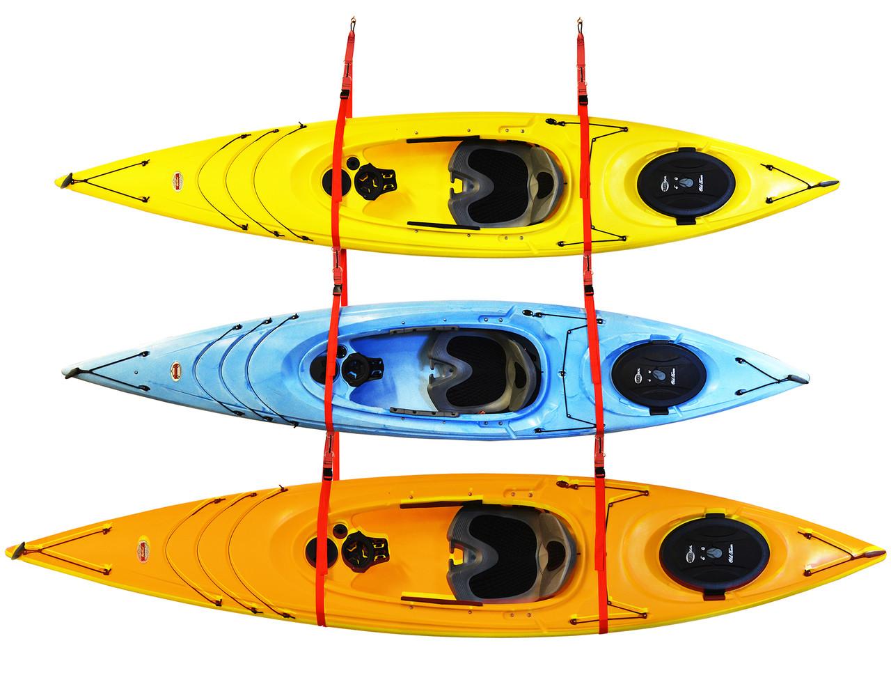 Hanging Kayak Storage Strap | Fits 3 Kayaks