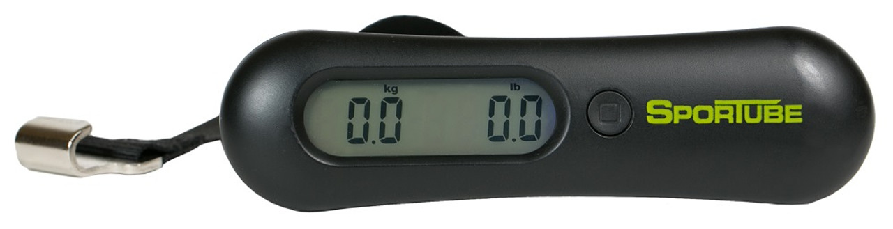 hand held luggage scale sportube