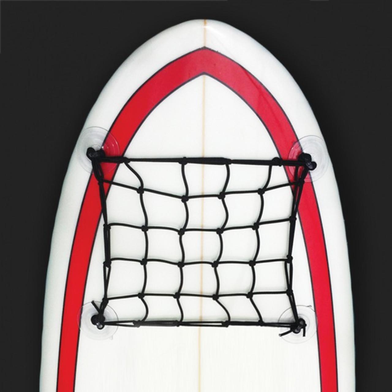 SUP deck bungee net