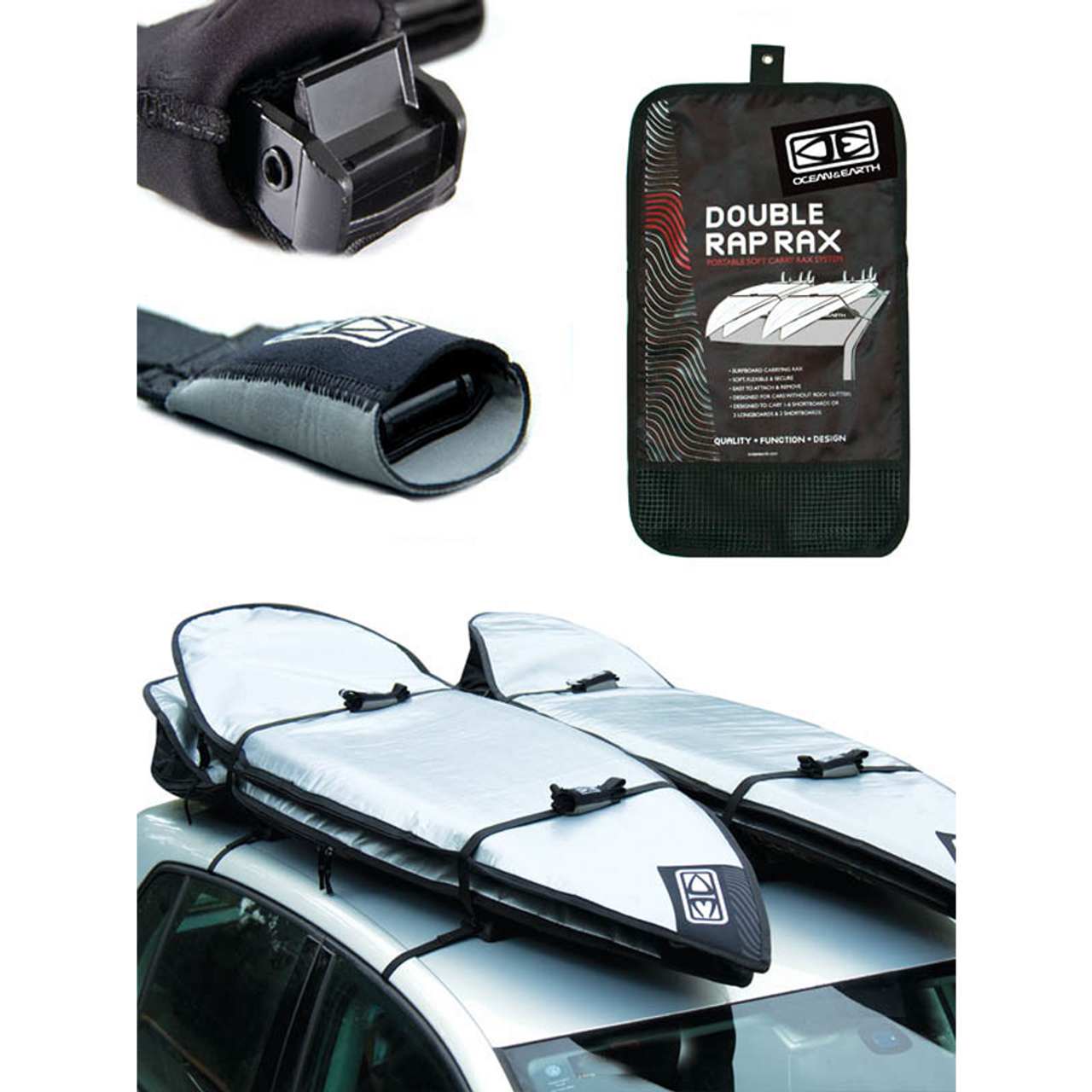 Double Roof Rack System | Ocean and Earth