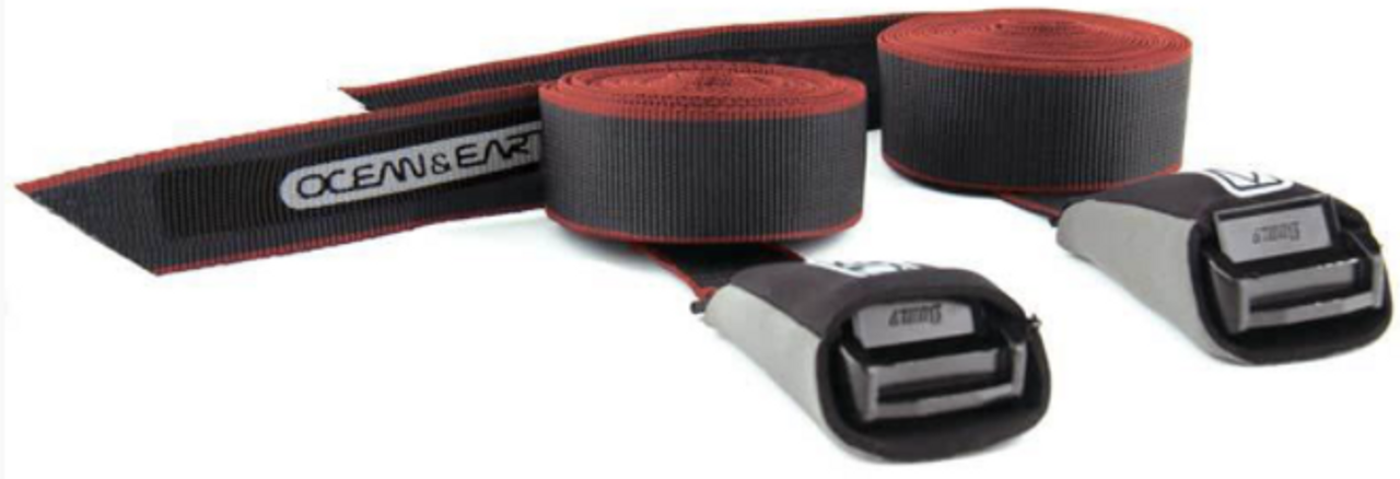 SUP and Longboard Tie Down Straps | Ocean and Earth