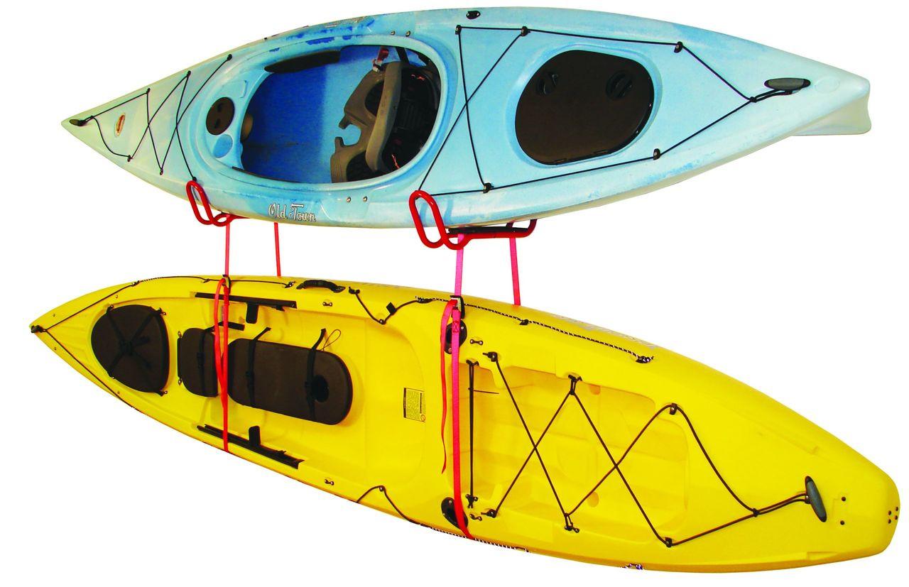 garage kayak wall storage cradle straps