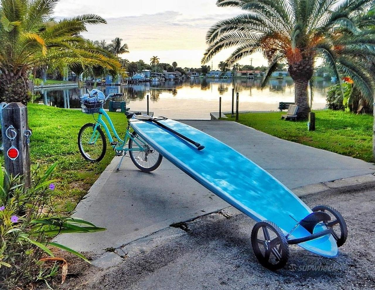 SUP Bike Trailer | Tow Paddleboard Behind Bike