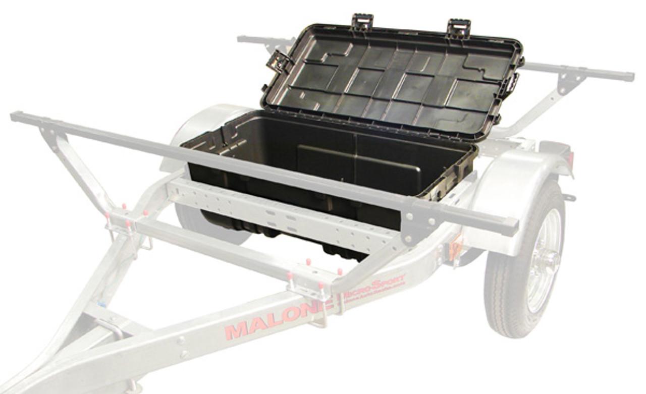 Hard Trailer Storage Trunk for Malone MicroSport