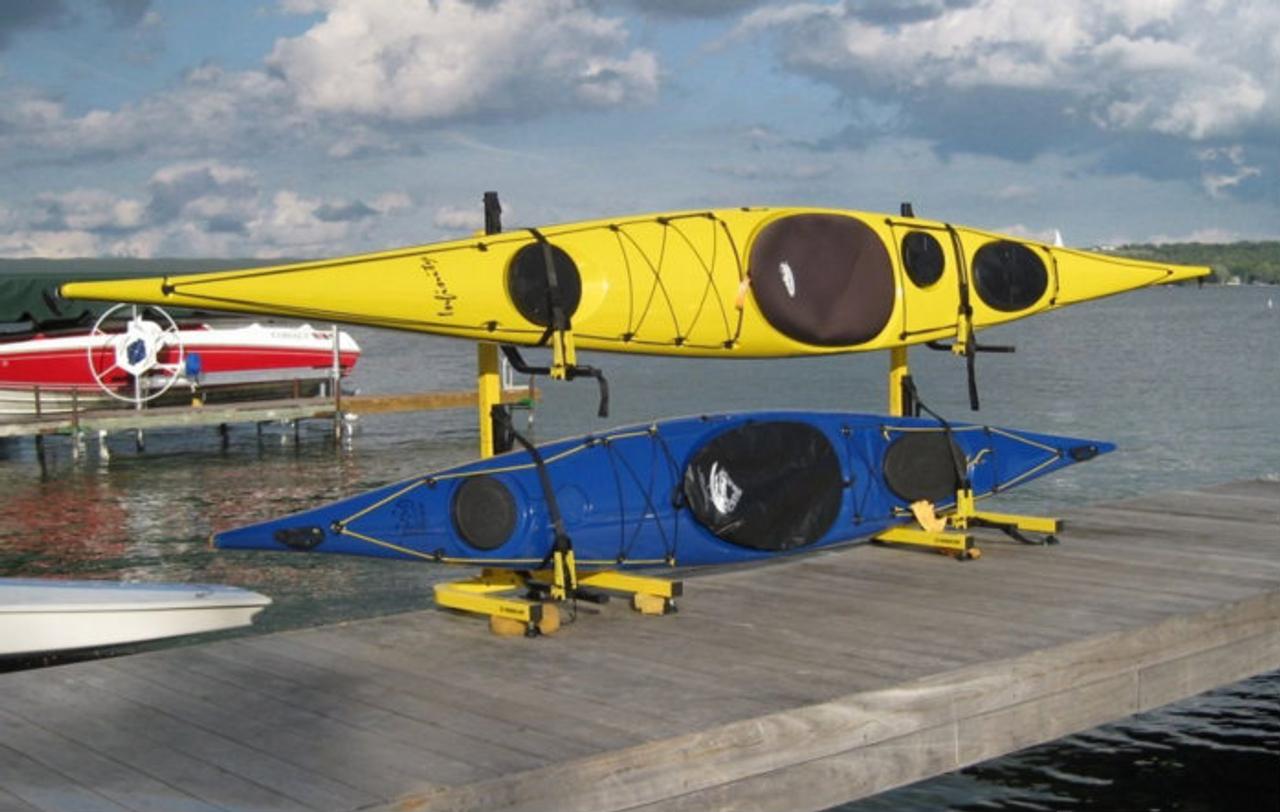 2 kayak rack for marina