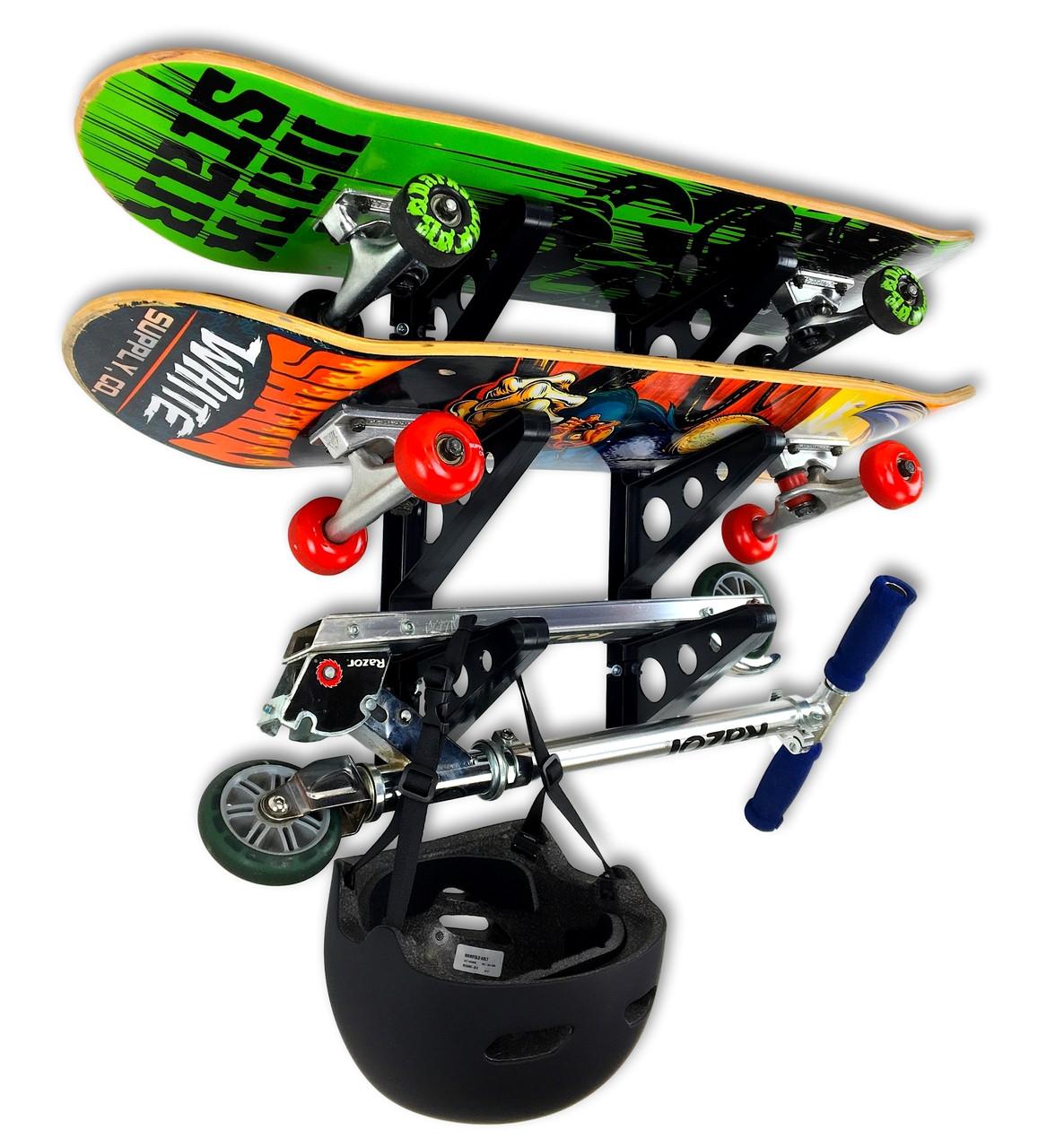 best skateboard rack for storage