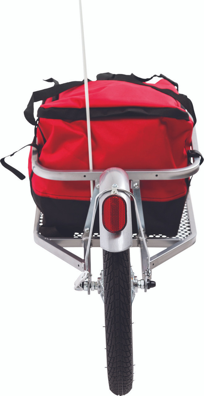 single wheel bike trailer