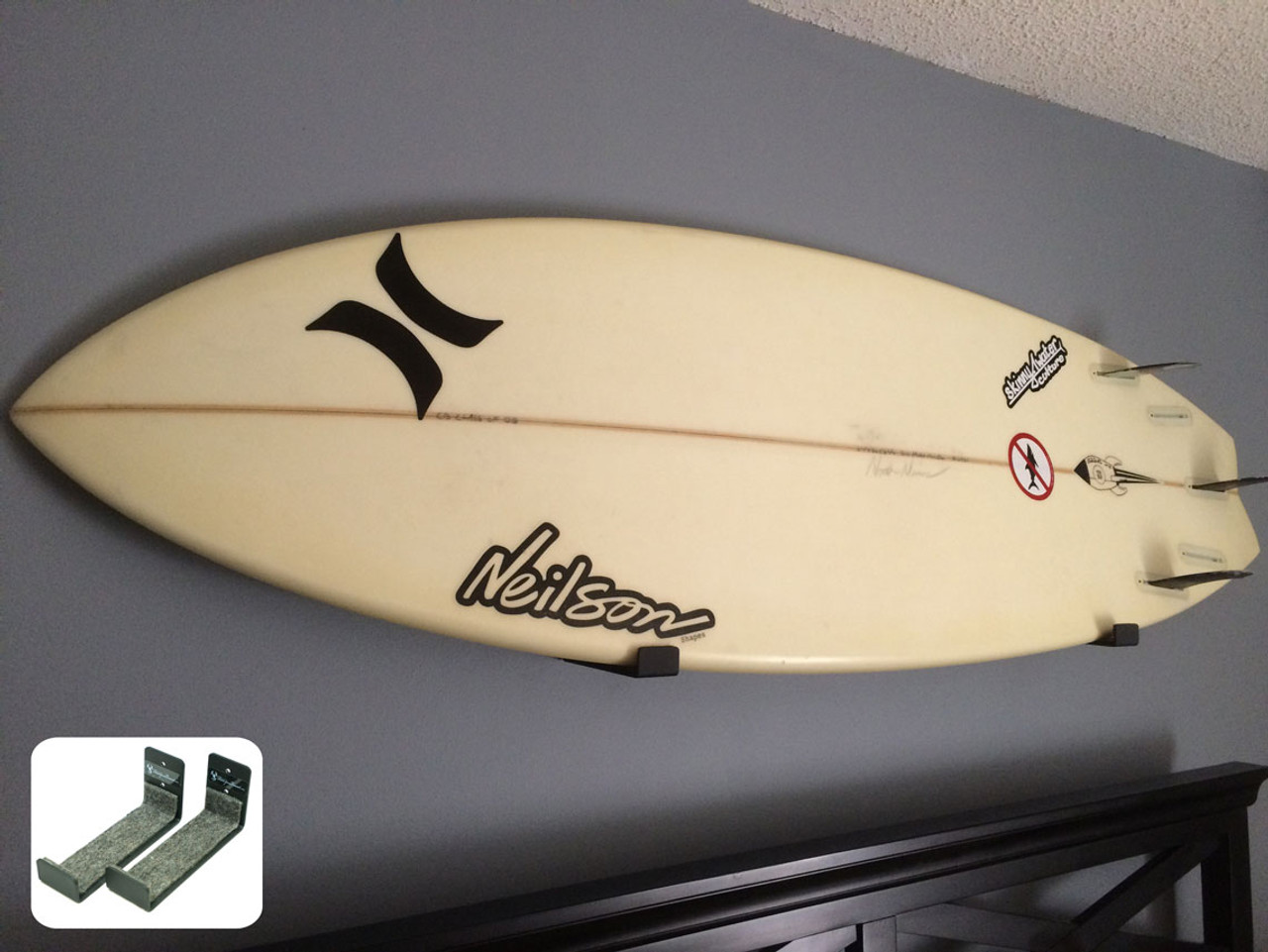 hidden surfboard rack