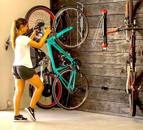 Omni Bike Rack Storage Shelf Holds Up To 5 Bikes