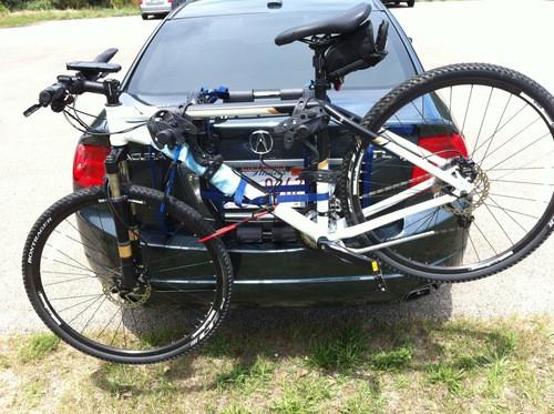 Trunk Mount Bike Rack >> Thule Passage 2 Trunk Mount Bike Rack