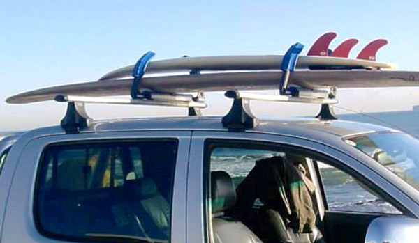 Surf Rack For Car >> Strapless Surfboard Roof Rack Quick Locking Adjustable Arms