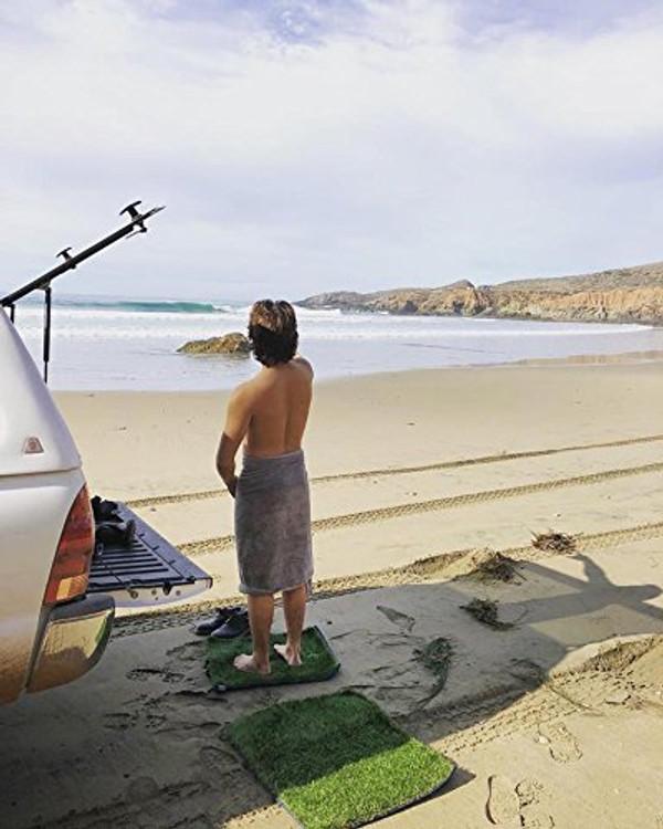 Surf Grass Changing Wetsuit Mat Brand New Rolled Grass Mats