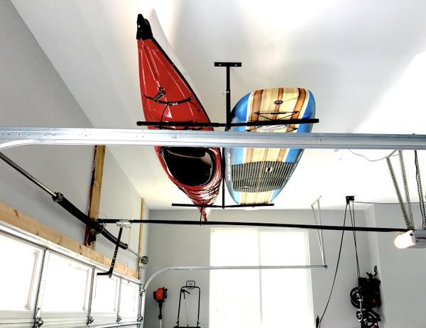 Kayak Ceiling Hoist Lift Pulley System Garage Storage Rack SUP Bike WK