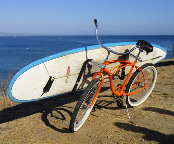 Outdoor Surfboard Holder Bike Bicycle Carrier Rack Surf Skimboard Side Kiteboard