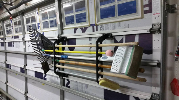 Garage Door Fishing Rod Rack Cobra Rack Garage Storage Storeyourboard Com