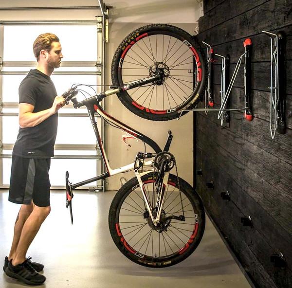 Mountain Bike Wall Rack Vertical Swivel Storage Mount Storeyourboard Com