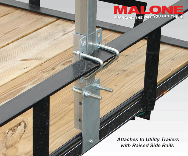 Cross Bar System For Utility Trailer Sport Load Bars